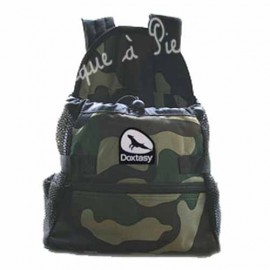 Sac kangourou camouflage, transport chat ou chien, small et medium