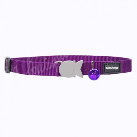 Collier violet pour chat Red Dingo