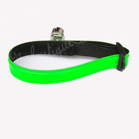 Collier vert pour chat