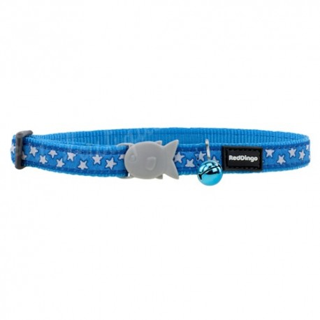 Collier Star pour chat Red Dingo bleu turquoise