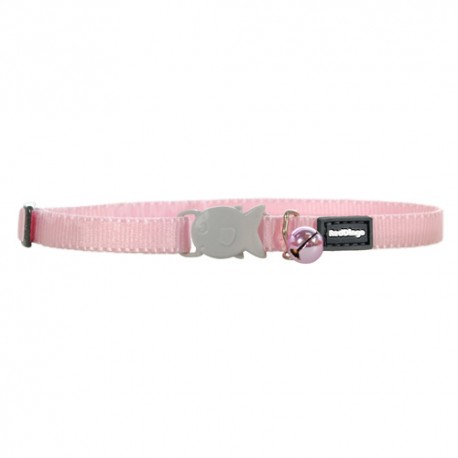 Collier Red Dingo rose pour chaton