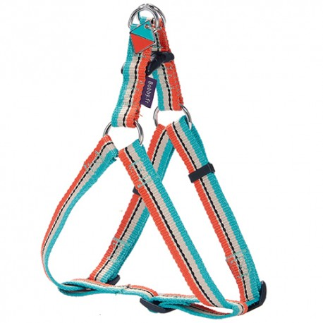 Harnais baudrier pour chien Bobby Surf turquoise