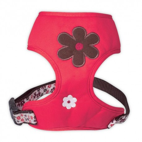 Harnais tee-shirt pour chien Bobby, Flower rouge