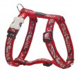 Harnais rouge Red Dingo collection bandana rouge