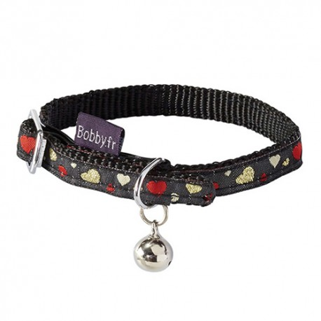 Collier pour chat Bobby Lovely noir