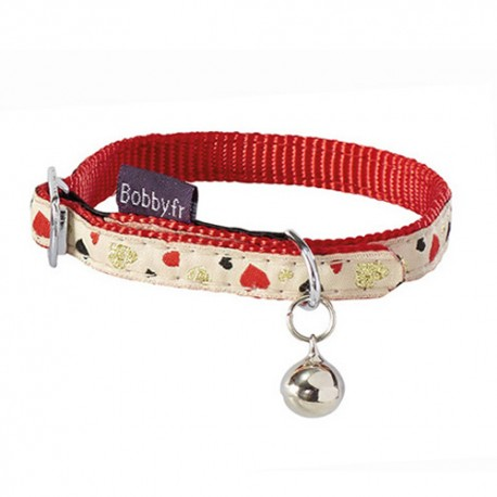 Collier pour chat Bobby Lovely rouge