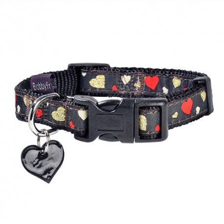 Collier pour chien Bobby Lovely noir