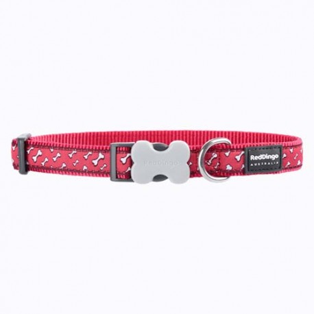 Collier Red Dingo Os volants rouge